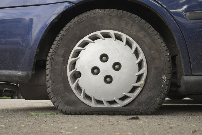 What to Do When You Get a Flat Tire
