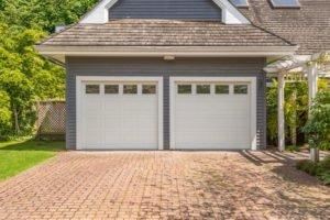 a garage of a house